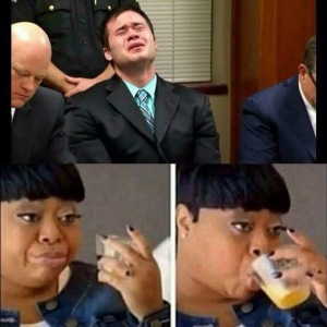 Holtzclaw crying while listening to his guilty charges on his birthday. Sorrynotsorry bruh.